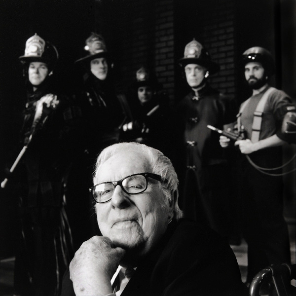 Photo of Ray Bradbury